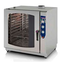 Horno gas 7 GN 2/1 mixto INOXTREND C
