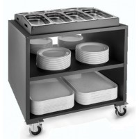 Carro buffet negro 1 GN